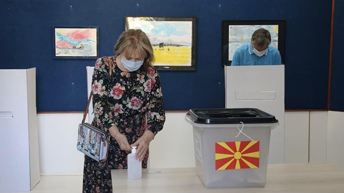 K. Makedonya'da erken genel seçim sonuçları belli oldu