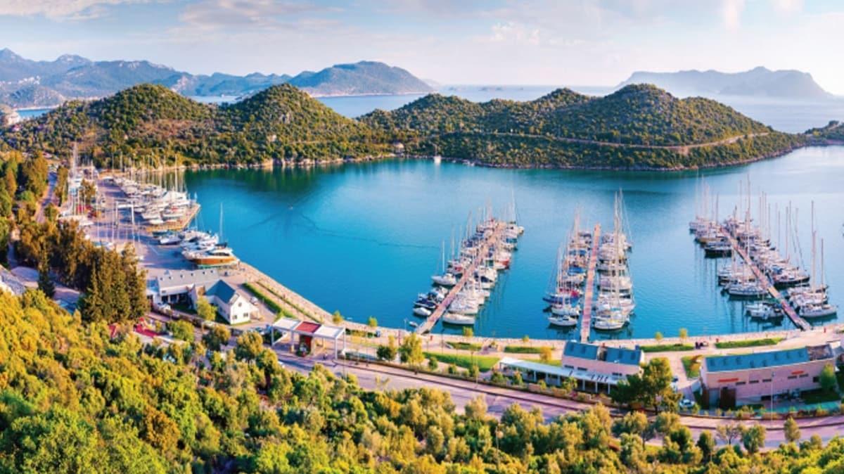 Akdeniz'in cennet köşesi Kaş