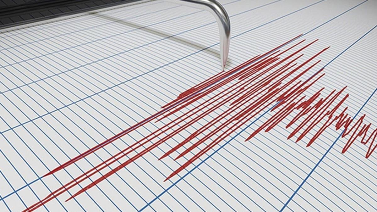 Bingöl'de deprem meydana geldi