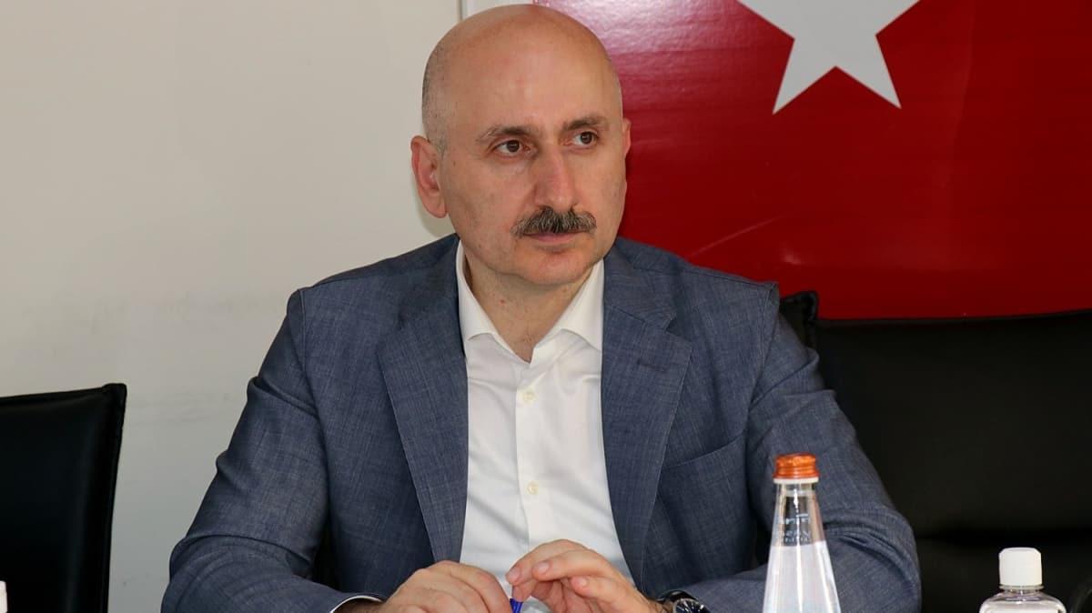 Bakan Adil Karaismailoğlu: Artık laf dinleyen değil, yöneten Türkiye var