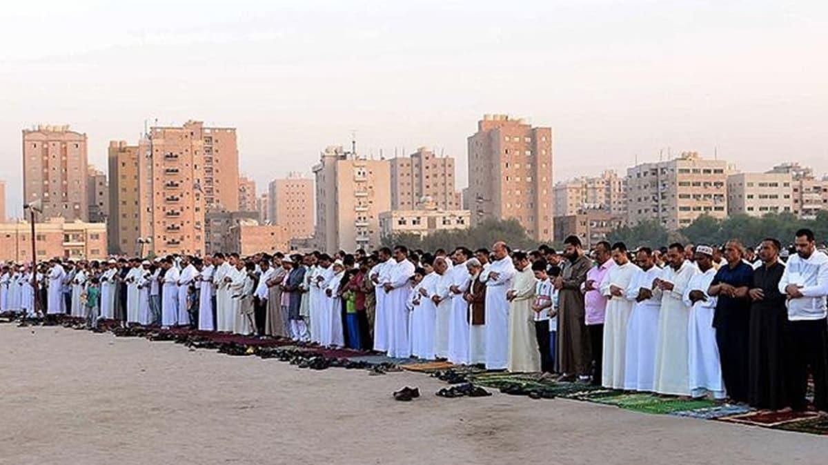 Arap ülkelerinde bayram namazı tedbirleri! Toplu halde kılınmayacak