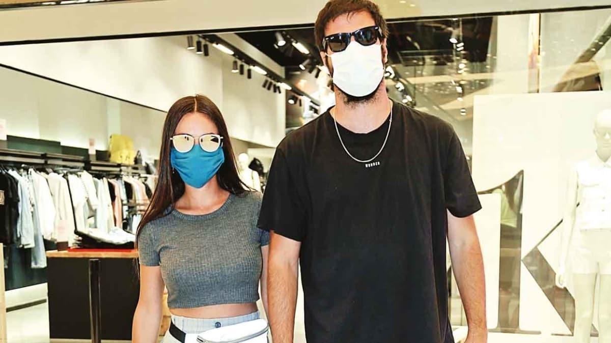 Maskeli alışveriş