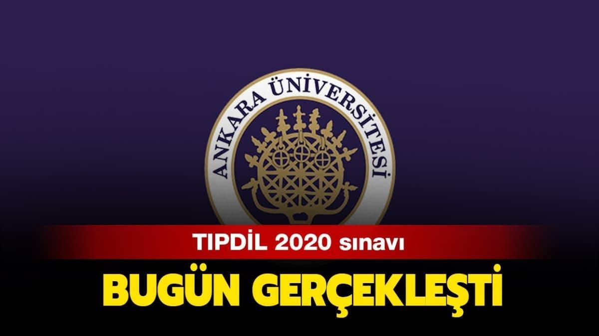 """Ankara Üniversitesi TIPDİL sınav sonuçları ne zaman açıklanacak"""""""