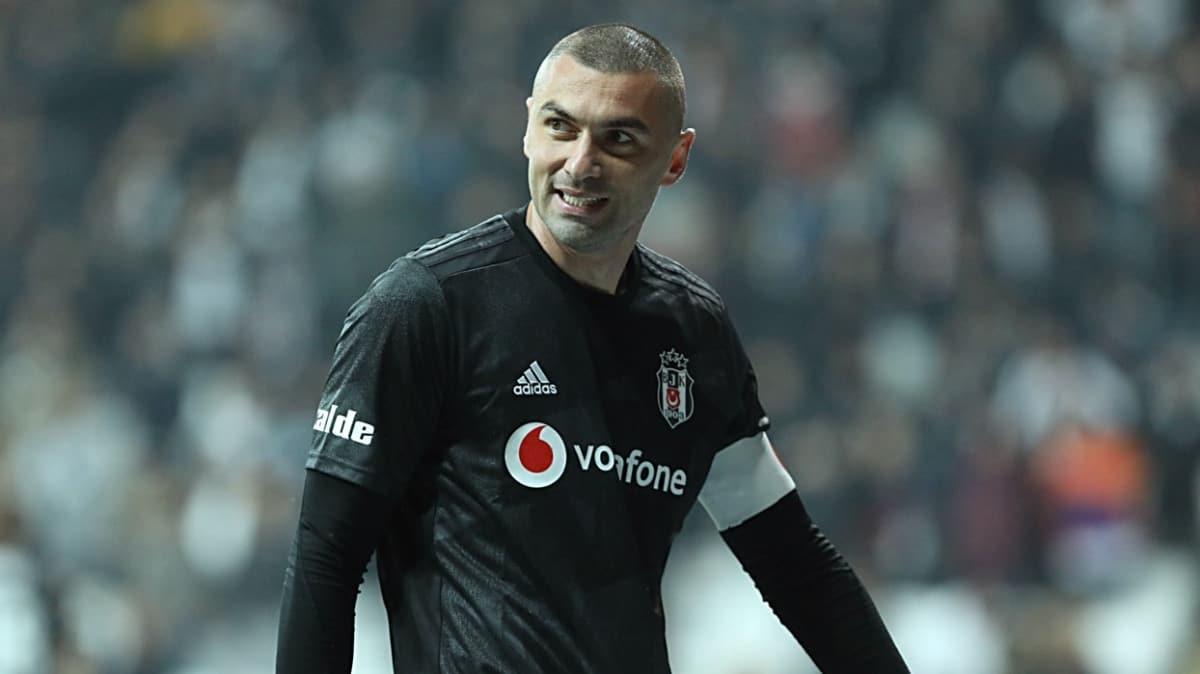 Burak Yılmaz, Beşiktaş'taki ikinci dönemini 25 golle tamamladı