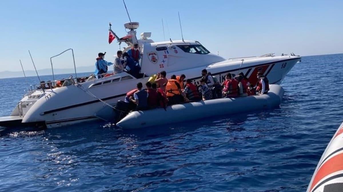 Türkiye 1 ayda 929 düzensiz göçmeni kurtardı