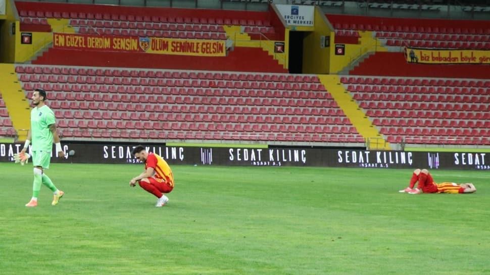 Süper Lig'de Kayserispor ve Yeni Malatyaspor küme düştü