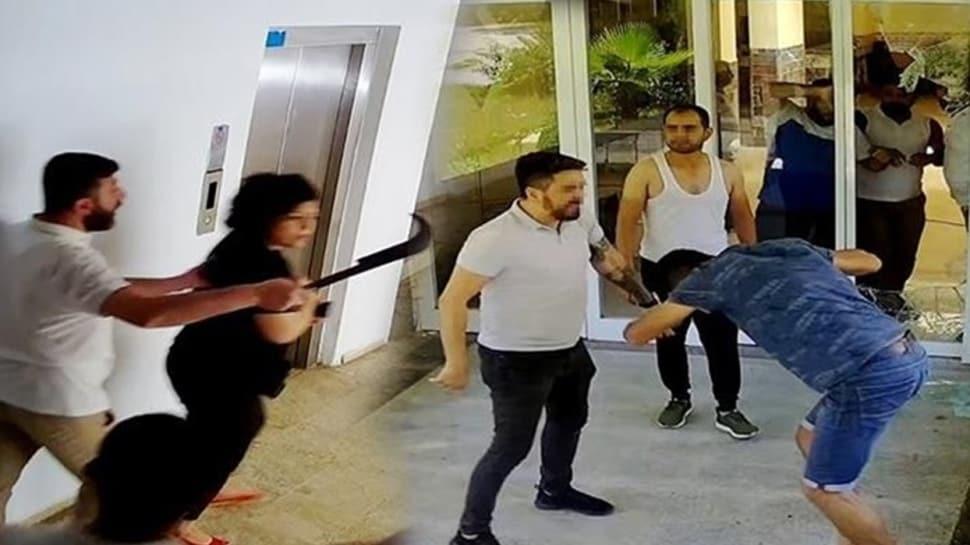 Antalya'da oteli tahrayla bastılar: Panik odası oluşturduk