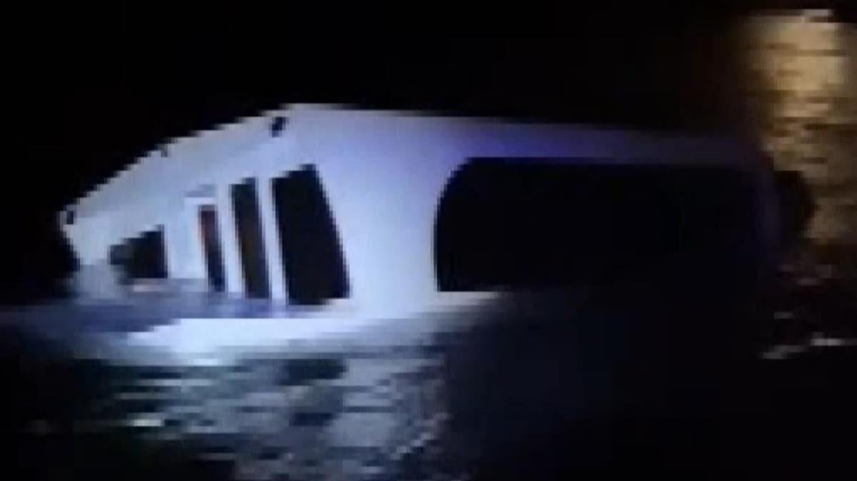 Heybeliada açıklarında tekne battı: 27 kişi kurtarıldı