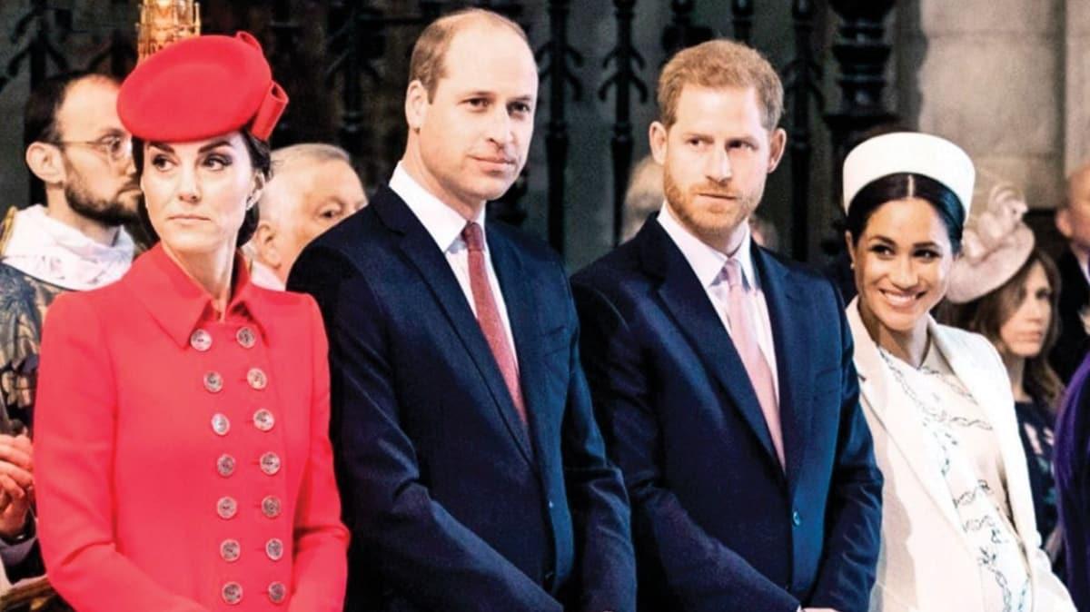 Harry ve Meghan Markle, William ve Kate'i kıskanmış
