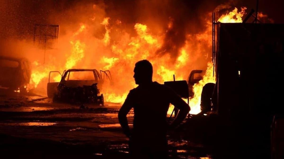 Bağdat'ta Haşdi Şabi'nin bulunduğu askeri üste patlama