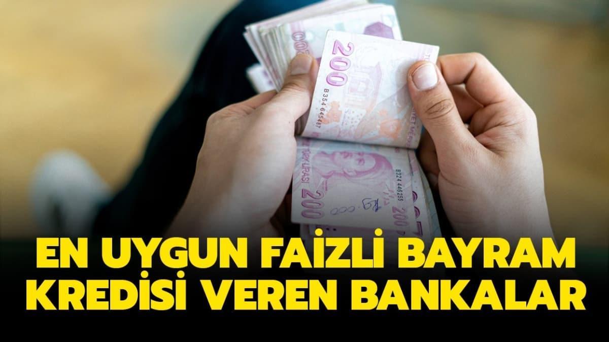 """En uygun faizli kredi veren bankalar: ING, Yapı Kredi, Vakıfbank, Garanti bayram kredisi nasıl alınır"""""""