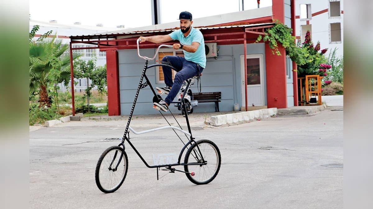 Koronavirüsten koruyan bisiklet