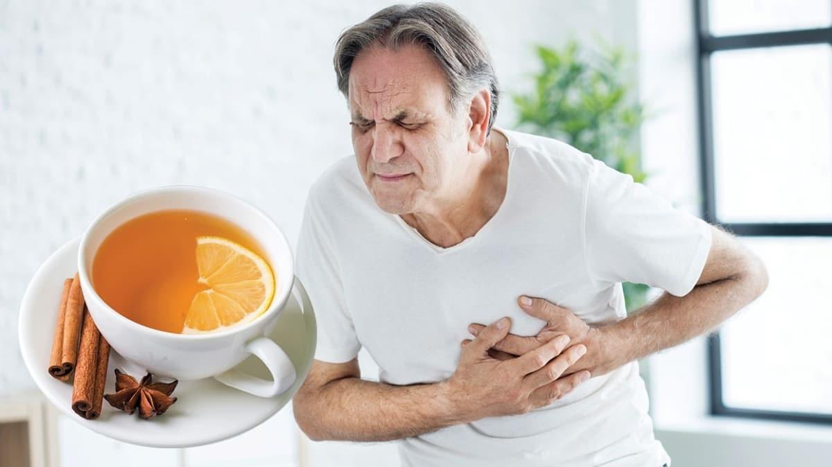 Limon çayı kalp krizini önler
