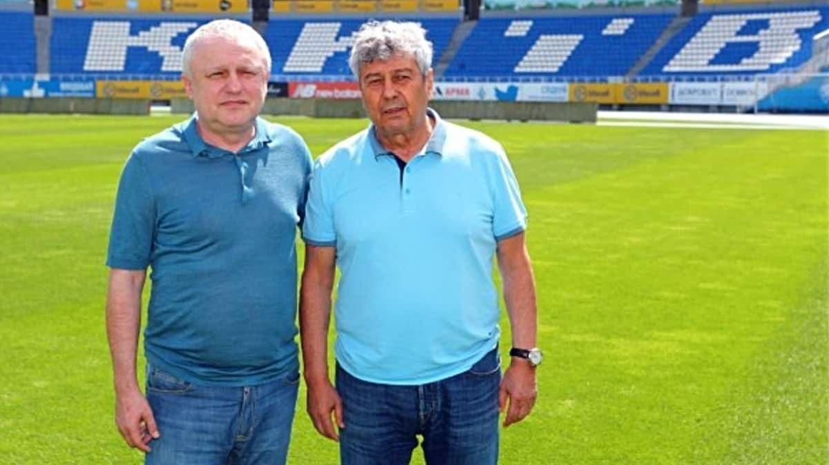 4 gün önce Dinamo Kiev'e imza atan Mircea Lucescu, istifa etti