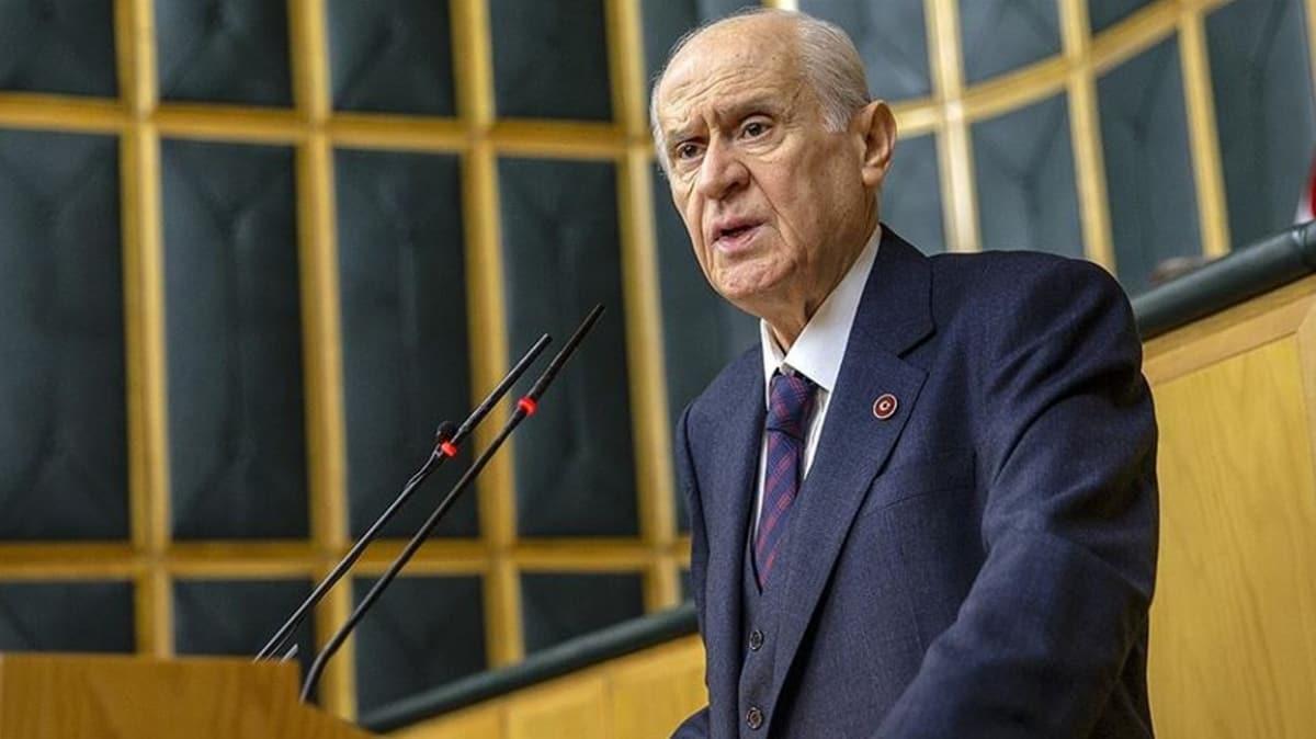MHP Lideri Bahçeli'den Yunanistan'a sert tepki