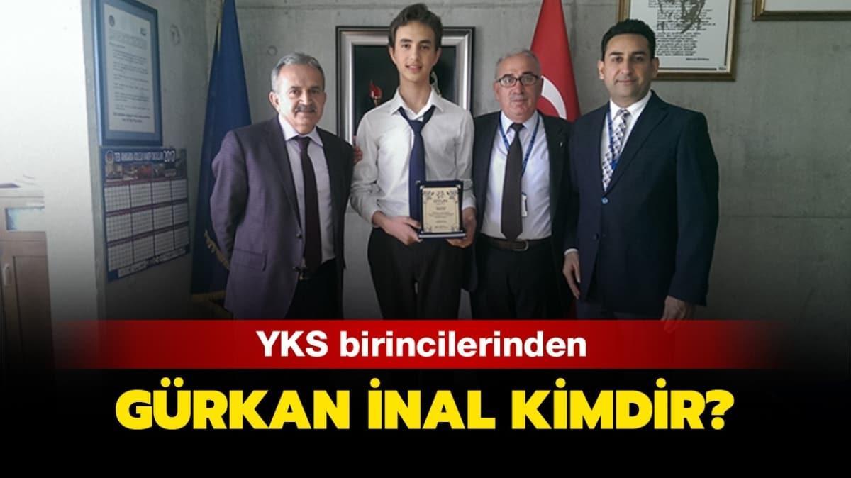 """YKS 2020 birincisi Gürkan İnal hangi okul mezunudur"""""""