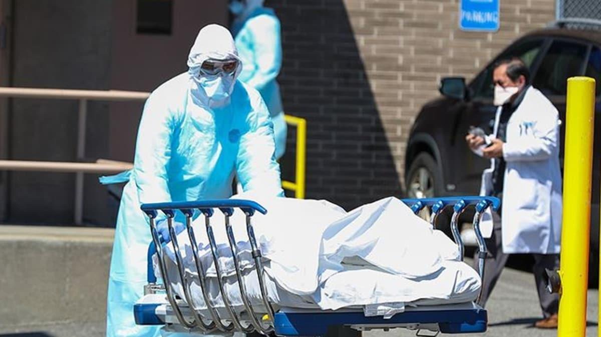 ABD'de Kovid-19 nedeniyle ölenlerin sayısı 150 bin 515'e yükseldi