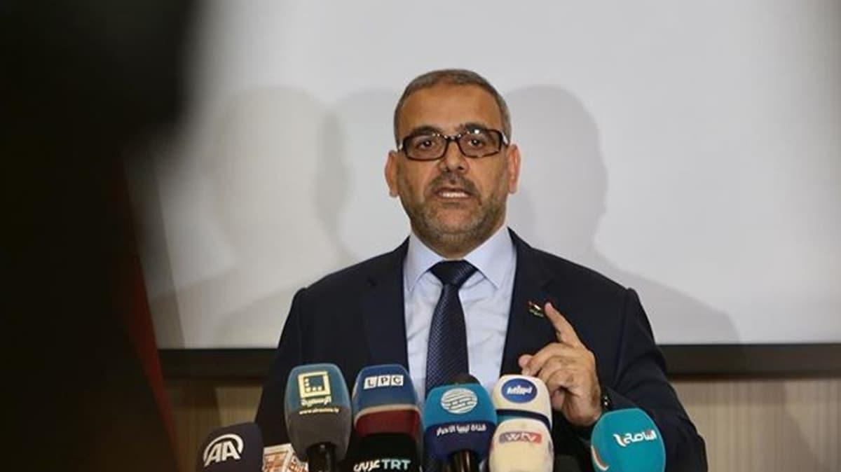 Libya Devlet Yüksek Konseyi Başkanı Mişri: Saldırıları geri püskürtmek için Türkiye ile net bir anlaşma yaptık