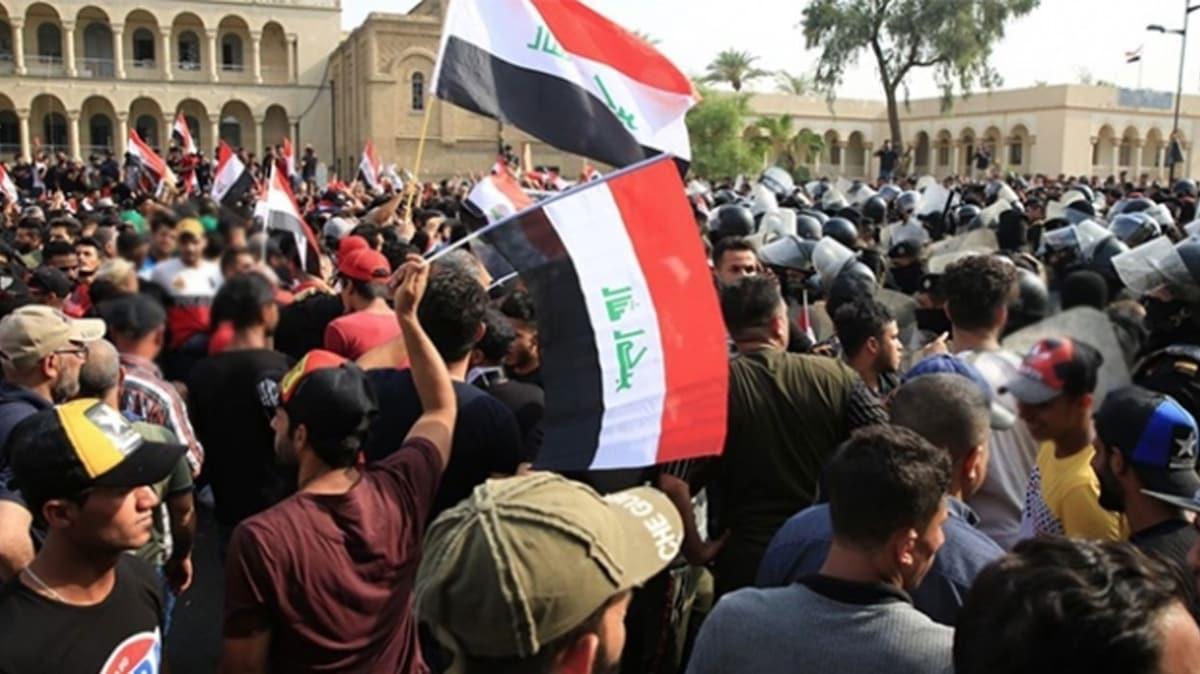Irak'ta protestolar yine alevlendi: 3 ölü 21 yaralı