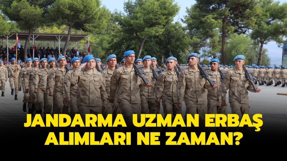 Jandarma Uzman Erbaş alım için bekleyiş sürüyor