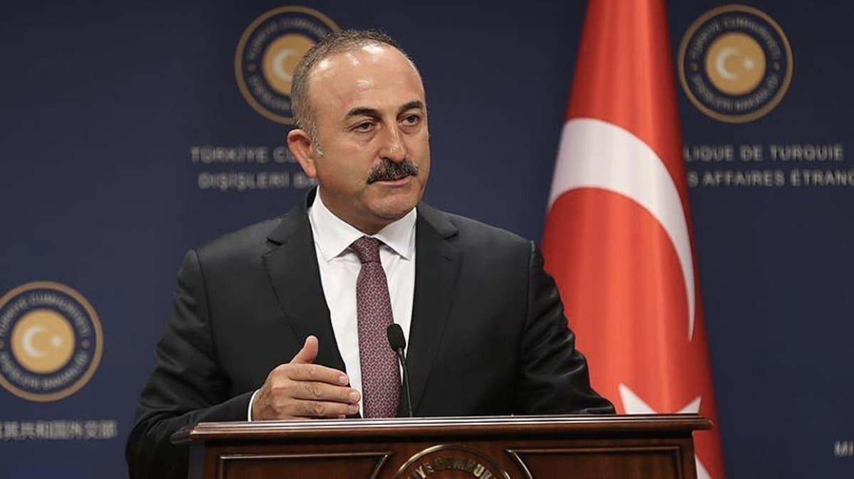Dışişleri Bakanı Çavuşoğlu salgından çıkarılabilecek dersler olduğuna dikkat çekti