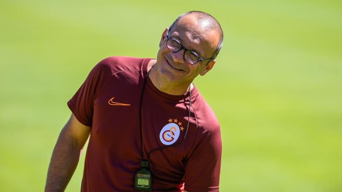 Galatasaray'da kondisyoner Alberto Bartali'yle yollar ayrıldı