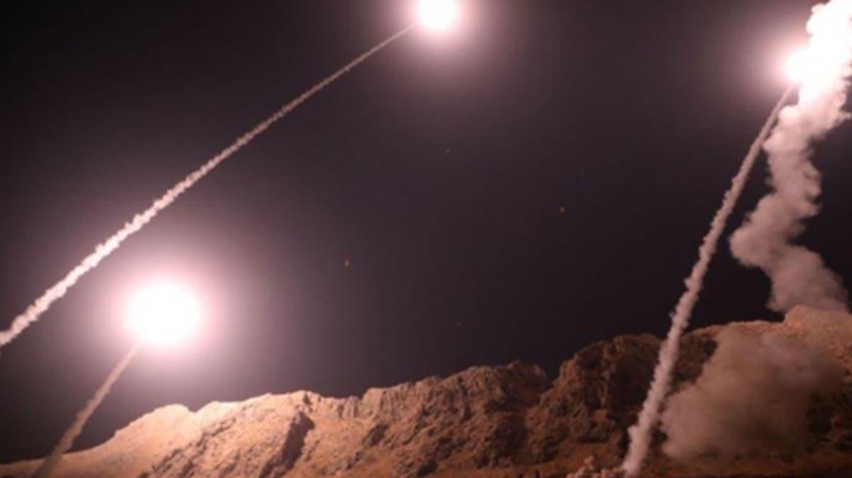 Irak'ta ABD üssüne füze saldırısı!