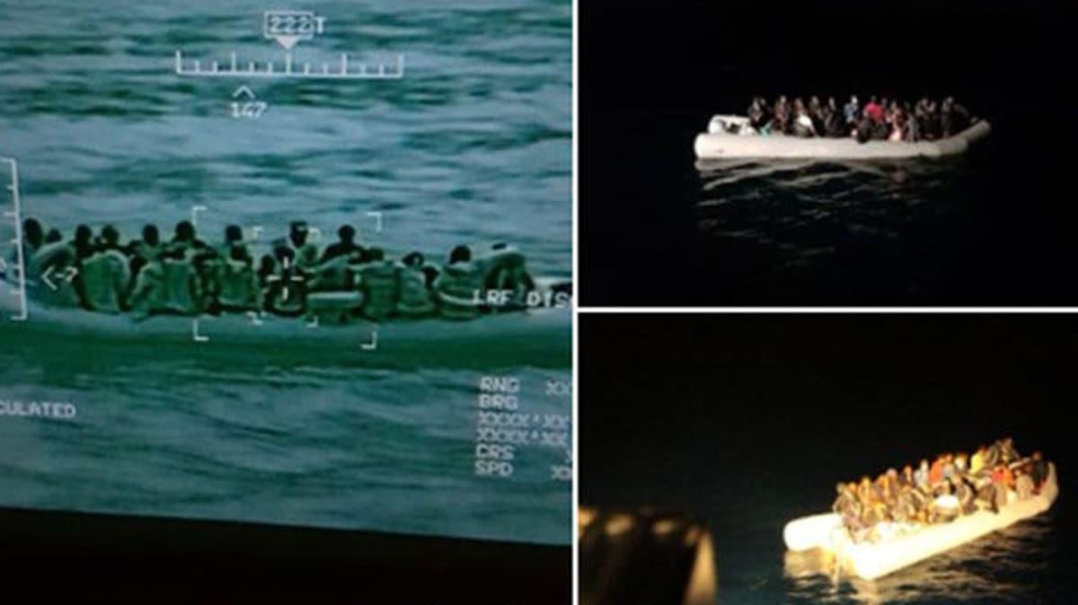 MSB: Midilli Adası doğusunda 26 göçmen Sahil Güvenlik Komutanlığı unsurlarınca kurtarıldı