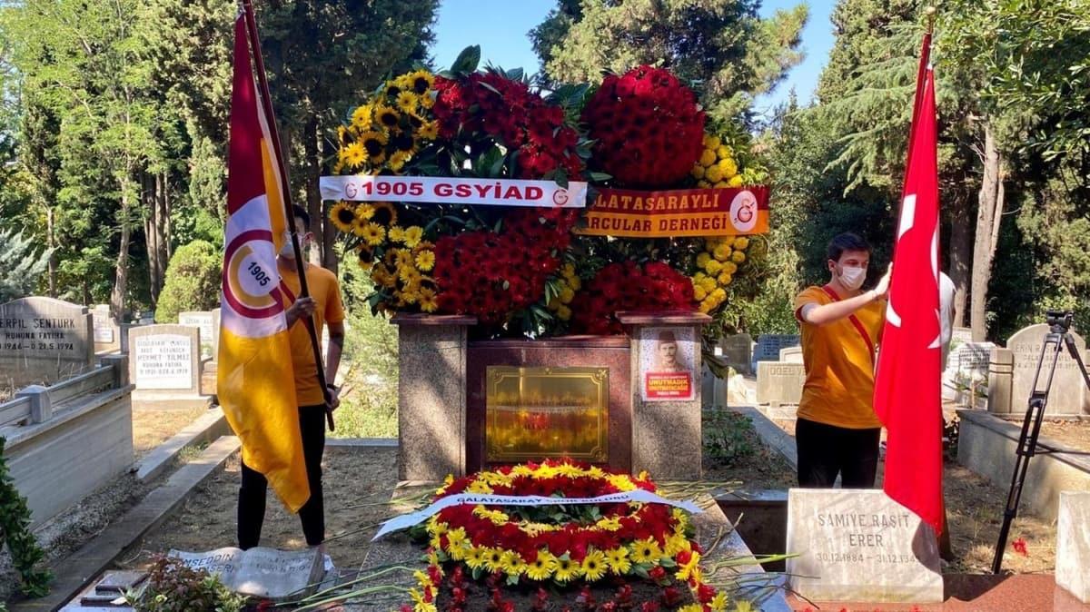 Ali Sami Yen, vefatının 69'uncu yılında kabri başında anıldı