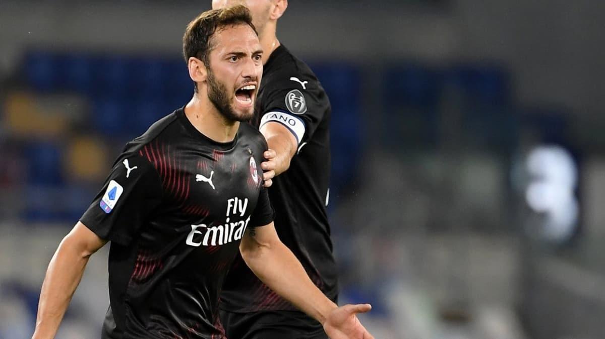 Hakan Çalhanoğlu'ndan 1 gol, 1 asist! Sampdoria 1-4 Milan