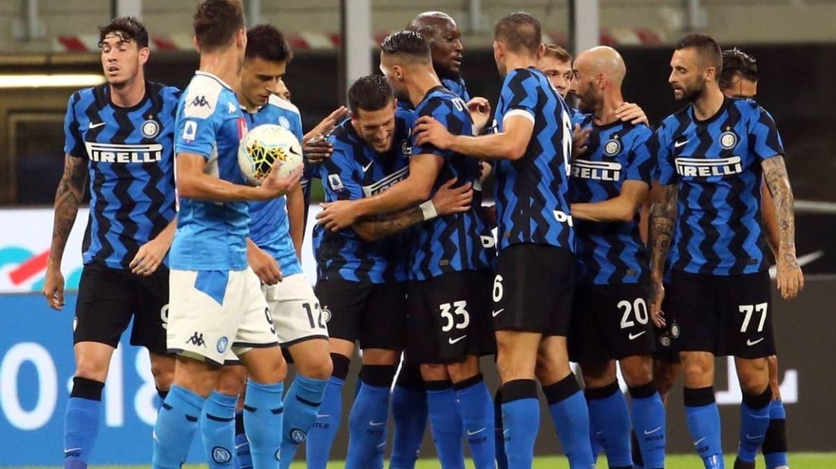 Inter'den Napoli karşısında net galibiyet