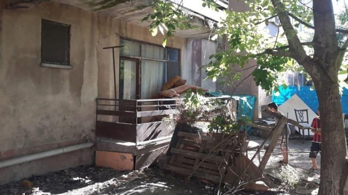 Kocaeli'de balkondan düşen 2 yaşındaki çocuk yaralandı