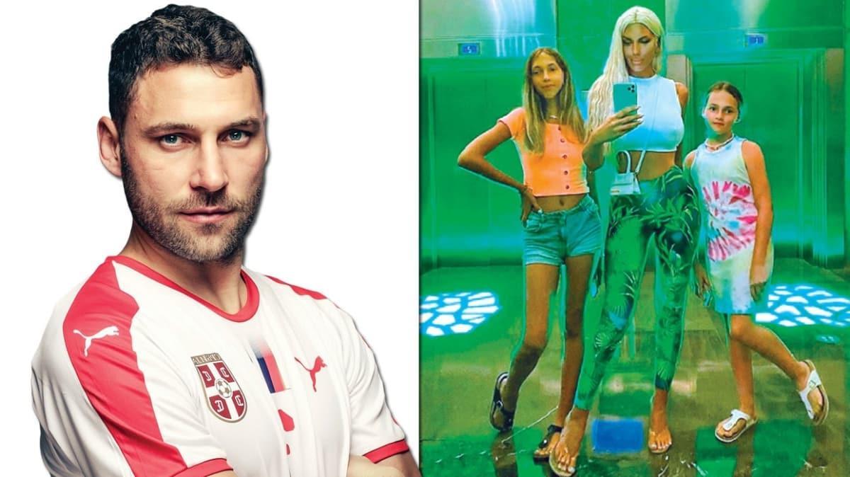 Futbolcu Dusko Tosic'in şarkıcı eşi Jelena Karleusa namıdiğer Yenge, Türkiye'den vazgeçemiyor