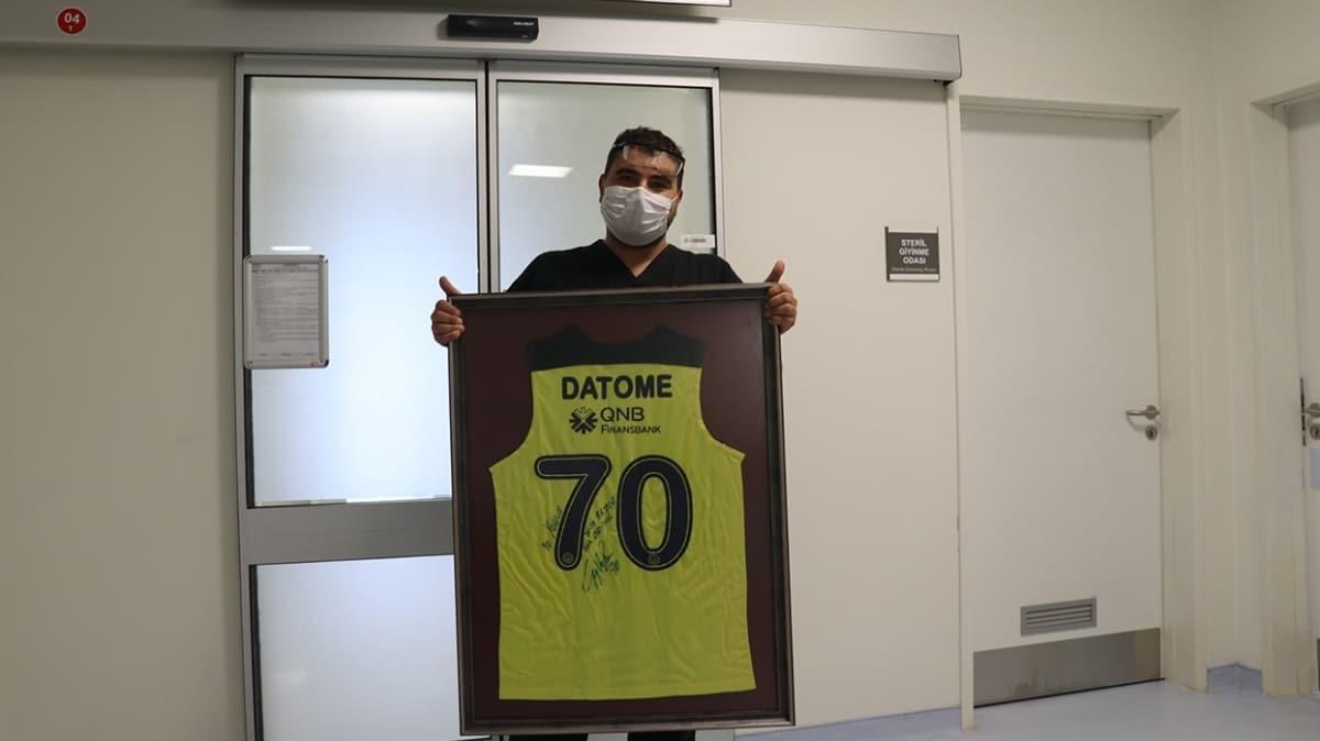 Datome'den sağlık çalışanına jest
