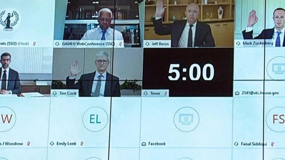 Teknoloji devlerine tekelleşme soruşturması... Amazon, Apple, Google, ve Facebook CEO'ları ABD Kongresi'nde ifade verdi!