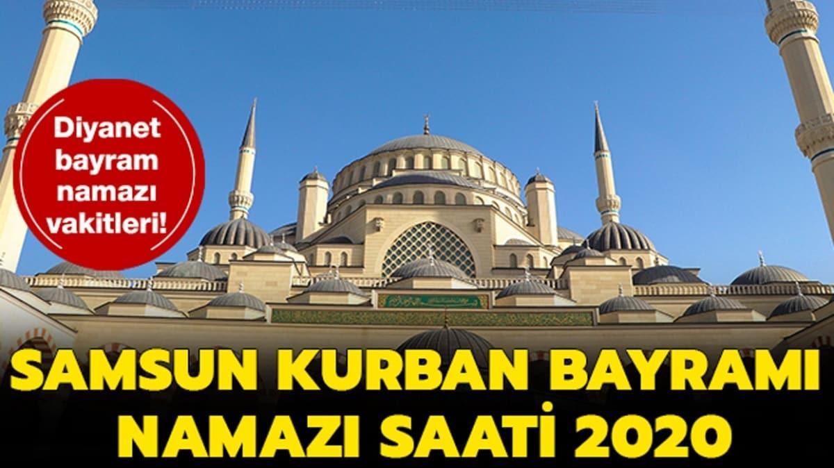 """Samsun Kurban Bayramı namazı saati 2020! Samsun bayram namazı saat kaçta kılınacak"""""""