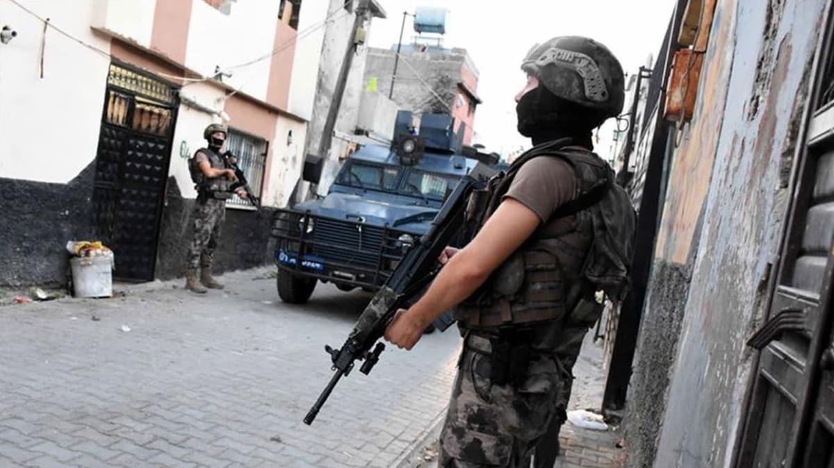 Saldırı hazırlığında oldukları tespit edilen 9 DEAŞ'lı terörist yakalandı