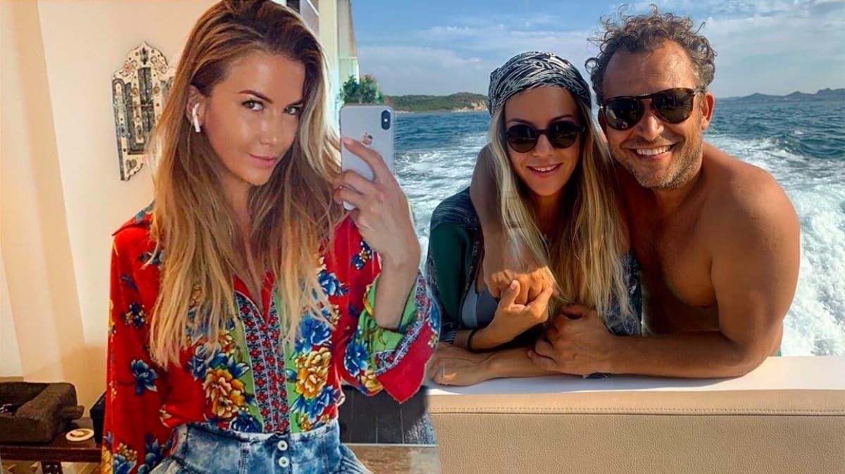 Ivana Sert yeni sevgilisiyle tatilde! Haftalık 70 bin liralık tekneyle mavi tur keyfi