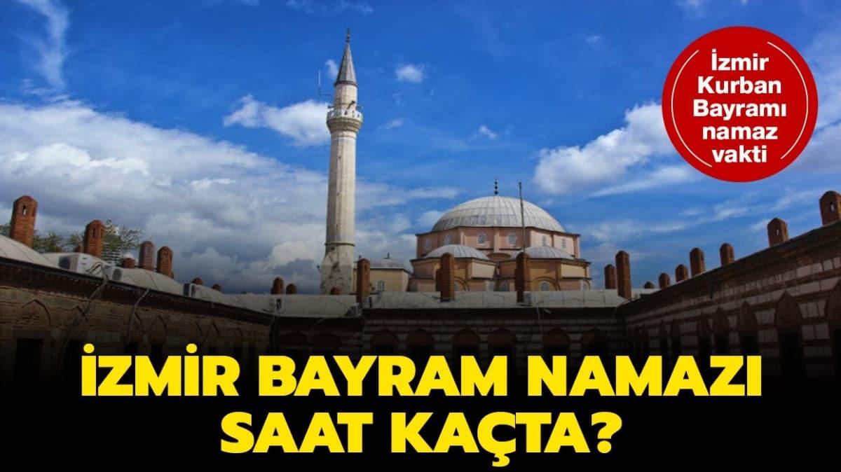"""Diyanet İzmir bayram namaz vakti 2020! İzmir Kurban Bayramı namazı saat kaçta kılınacak"""""""