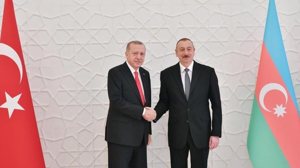 Başkan Erdoğan ve Aliyev telefonda görüştü