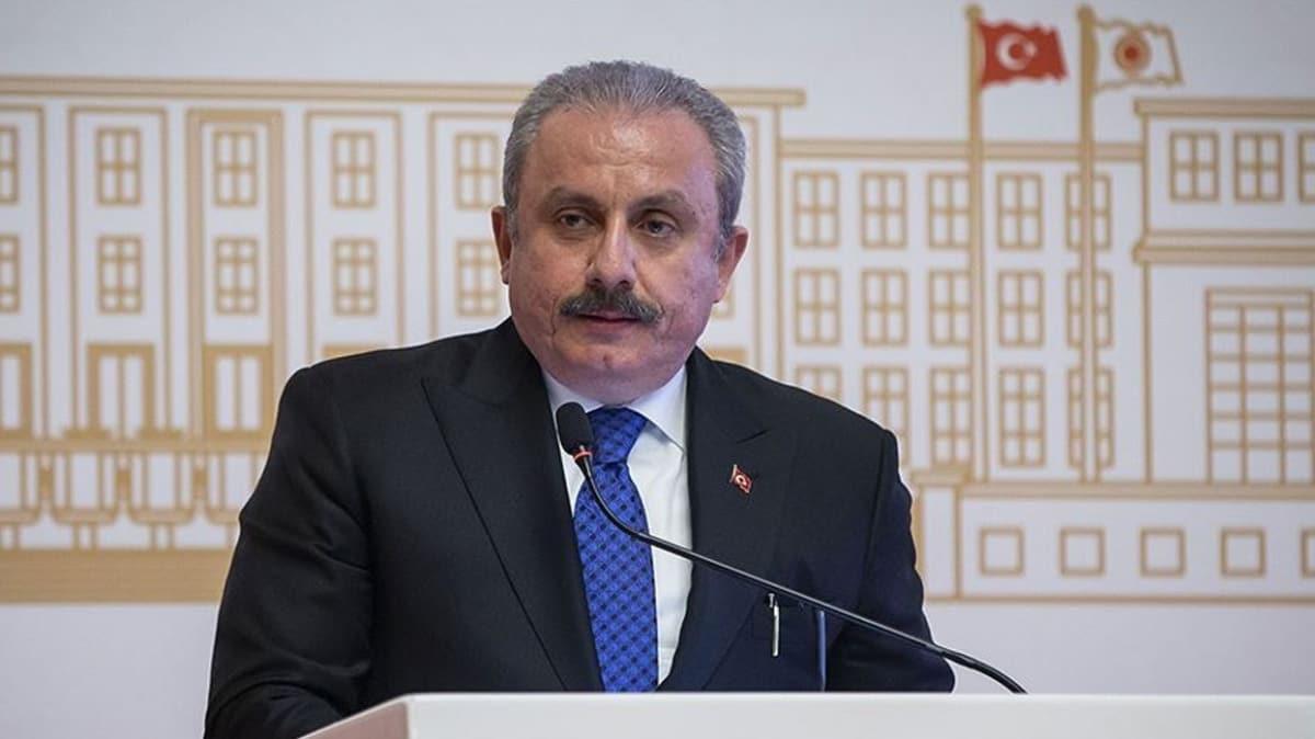 TBMM Başkanı Mustafa Şentop, eski Meclis Başkanlarının bayramını kutladı