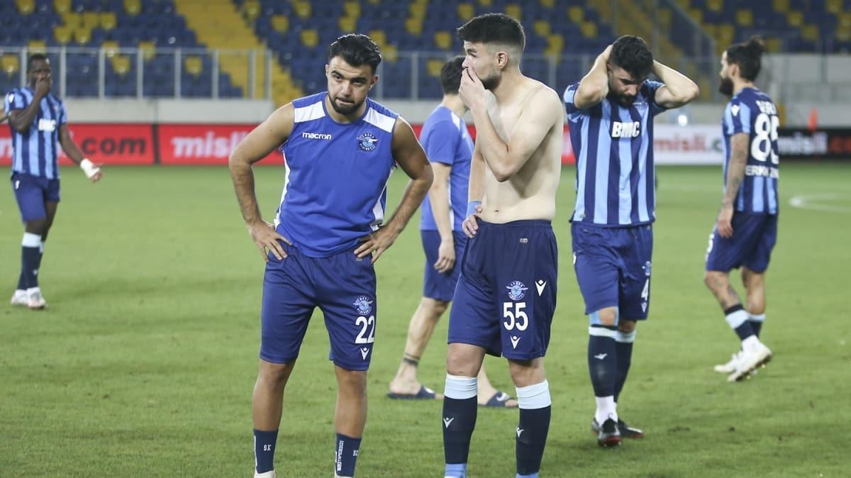 Ne yaptın Kurtuluş! Dün geceki olay, Adana Demirpsor-Fatih Karagümrük maçına damga vurdu