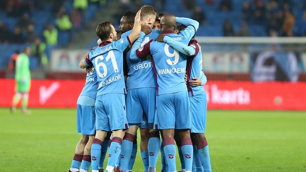 Trabzonspor bu sezon gol oldu yağdı