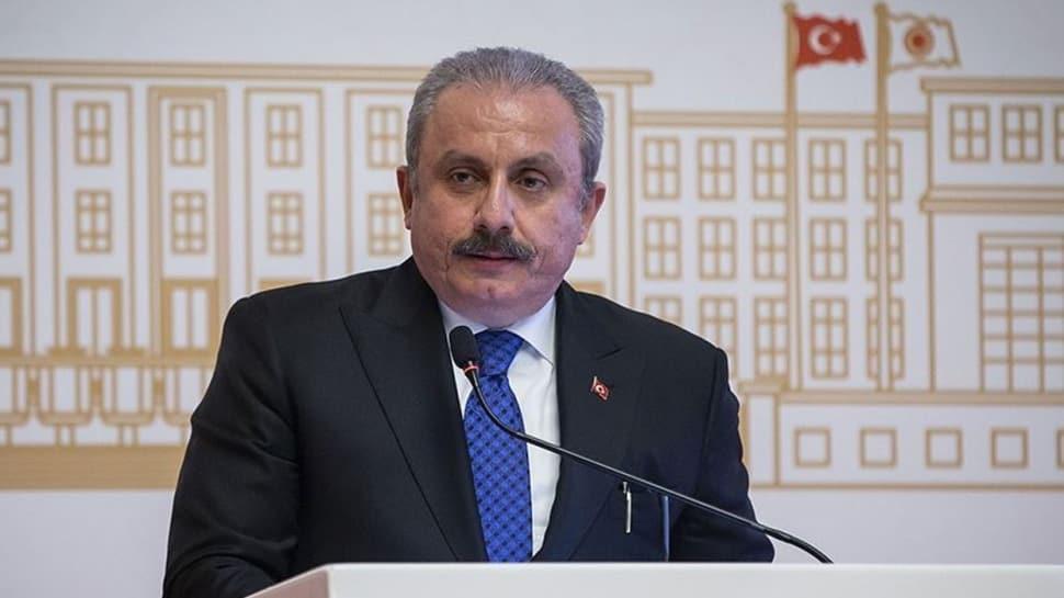 TBMM Başkanı Şentop, Tunuslu mevkidaşı Gannuşi görüştü