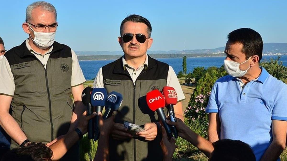 Bakan Pakdemirli'den, İzmir ve Manisa'daki yangınlara ilişkin açıklama
