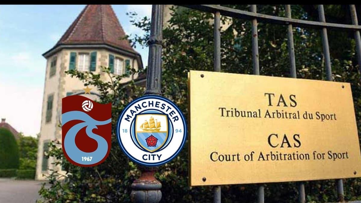 CAS'tan Trabzonspor'a çifte standart! Manchester City'ye var Trabzon'a yok...