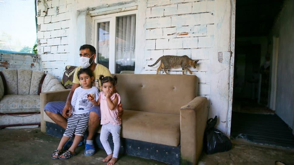 Suriyeli 'yangın kahramanının' hikayesi yürekleri burktu