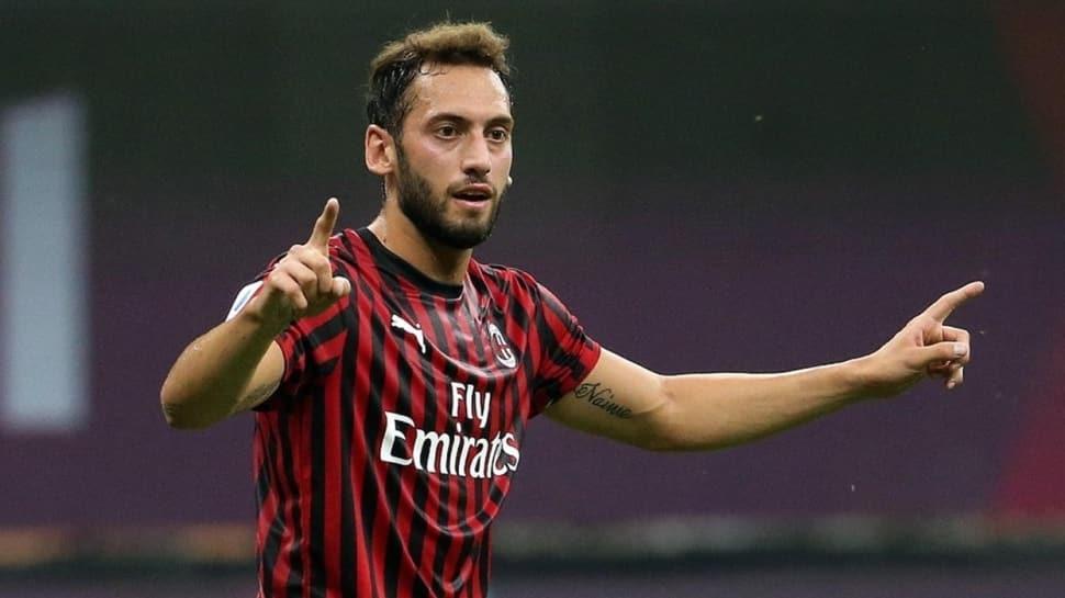 Hakan Çalhanoğlu bu sezon attığı 11 golle İtalya'da en golcü sezonunu yaşadı