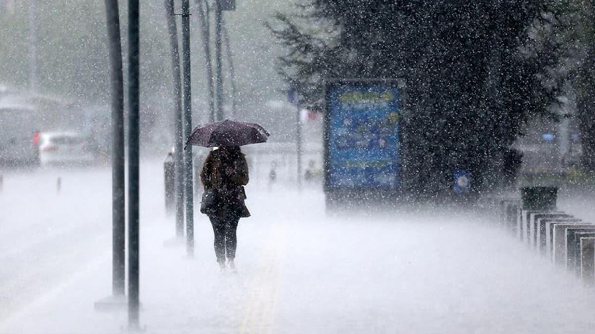 Sağanak uyarısı: Meteoroloji bölge bölge sıraladı