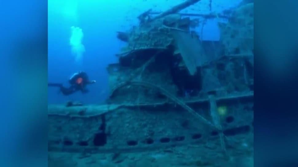 Deniz altındaki ölüm tuzağı: Dalgıçlar yarım ton 'hayalet ağ' çıkardı